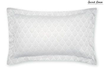 Secret Linen Store Teasels Dove Grey Pillowcase