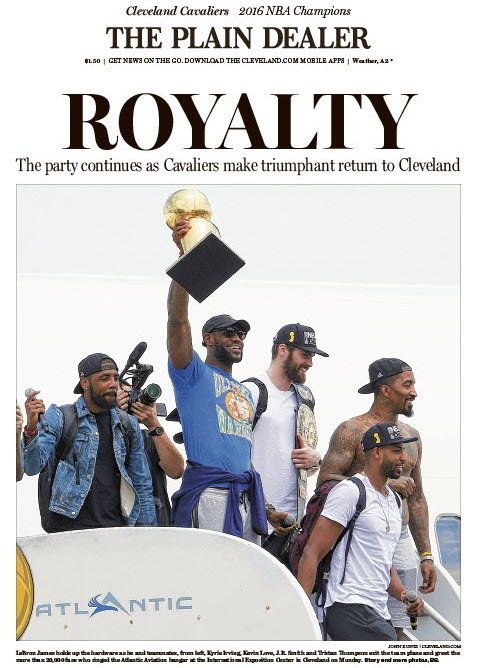 """Show your Cavs pride, print and wave this """"Believe It!"""" poster at the parade   cleveland.com"""
