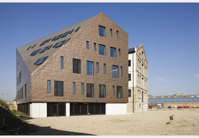 Schmidt Hammer Lassen Architects completes London granary | News | Building Design