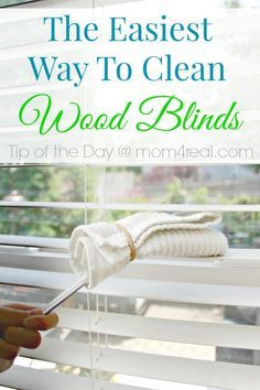 1000 Ideas About Cleaning Wood Blinds On Pinterest