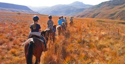 Thendele Lodge Thendele is located in the spectacular, awe-inspiring Drakensberg mountain region of South Africa. It offers comfortable accommodation in one of the most scenic natural regions on earth.