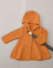 Revista bebé 74 Otoño / Invierno | 36: Bebé Abrigo | Naranja