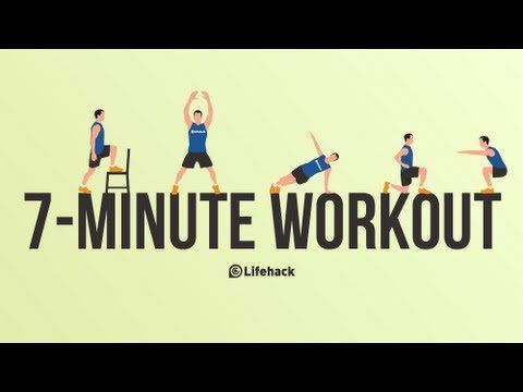 The Effective 7-Minute Full Body Workout