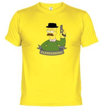 Camiseta FlanderBerg - Breaking Bad