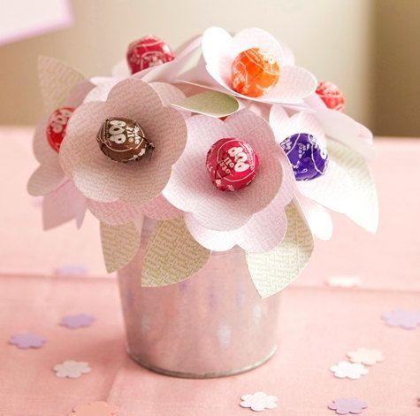 Personalized Baptism Favors Lollipop Flower by SetToCelebrate, $3.50
