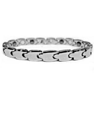 Faceted 8mm Tungsten Energy Magnetic Bracelet - Gelang Pria Wanita  Super Sale Normal Price Rp 750.000 Specifications: Material: Magnetic & Tungsten Color: Silver Gray Size: 17cm  8mm (XS) Size: 18cm  8mm (S) Size: 19cm  8mm (M) Can be resized as easily as a watch band by your local jeweler if needed.  Mengapa Memilih Aksesoris Tungsten Energy Magnetic Bracelet : Material berkualitas tinggi yang dapat berfungsi menahan gesekan panasdan asam-basa. memiliki karakteristik berkilau ringan tidak…