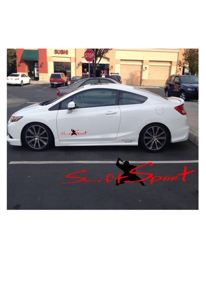 Swift Sport Honda Acura Toyota Nissan Mazda Car Decals