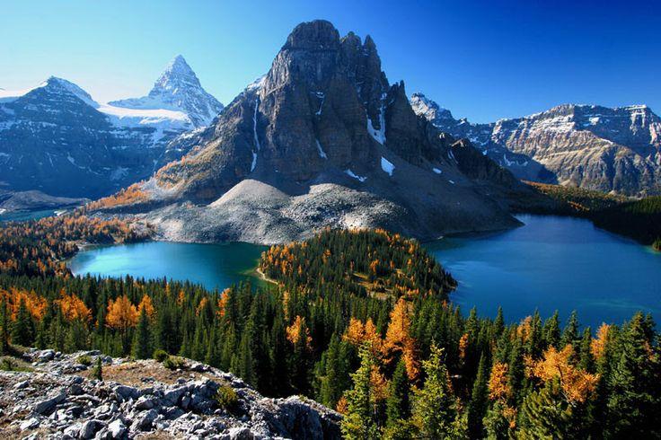 カナディアン・ロッキー山脈自然公園群(カナダ)