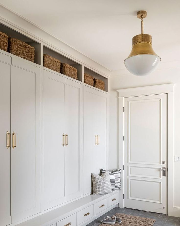 Mudroom Locker Halltree Entryway Bench Build In Look Custom Made Contact For Pricing In 2020 Mudroom Design Mudroom Laundry Room Laundry Mud Room
