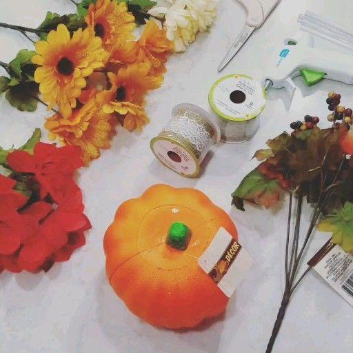 Einfache Dollar Tree Fall Crafts – My Sanity Pr…