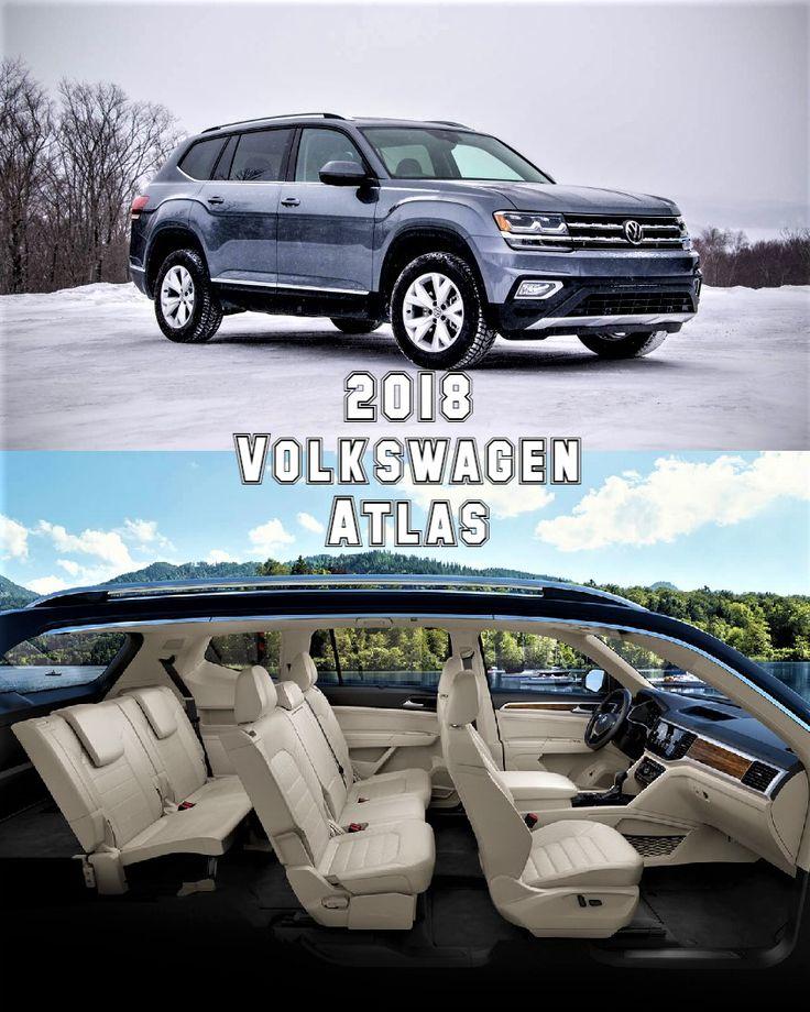 2018 Volkswagen Atlas 7 Seater SUV - Starting From $30,750 (£22,255).    http://vw.com/models/atlas/