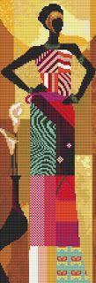 Ire's workshop: Cross stitch patterns: African (1)