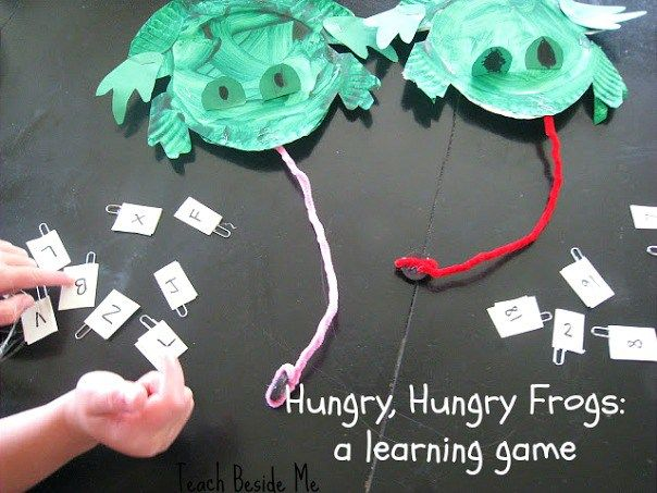 Hungry Frogs Learning Game- Great for Leap Year!!