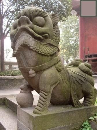 重慶の狛犬