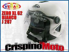 CASCO JET MODELLO ZERO COLORE BIANCO (J207) TAGLIA XL- 62