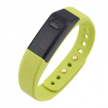 Vidonn Oled Smart Wristband Bracelet with Sports & Sleep Tracking IP67 Bluetooth V4.0 for IOS & Android - X5 - Mustard Green Model  VNSE01MD Condition  New  Vidonn Wristband termurah hanya di Gudang Gadget Murah. Vidonn smart bracelet is a wearable smart devices, containing three-dimensional motion sensor, vibration motors.Users can record real-time exercise and slepping data everyday with bracelet. It can be synchronized with a Bluetooth smartphone or PC - Mustard Green