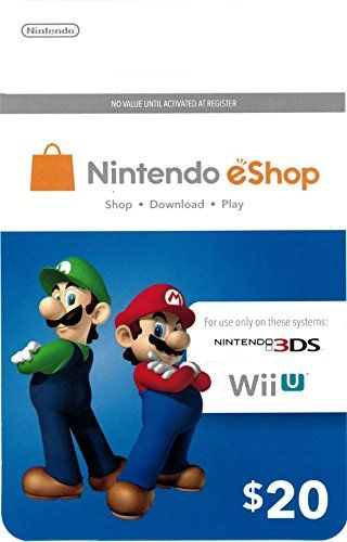 Gigantic Collection Of Gift Ideas For Tween Girls   Nintendo eShop Gift Card