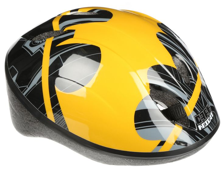 For all safety conscious superheroes, the Batman Boys Bike Helmet is a must have.