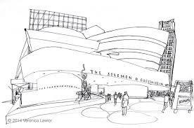 نتيجة بحث الصور عن guggenheim museum sketch