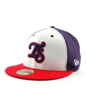 New Era Tennessee Smokies MiLB 59FIFTY Cap - White/Navy/Red 7 3/8