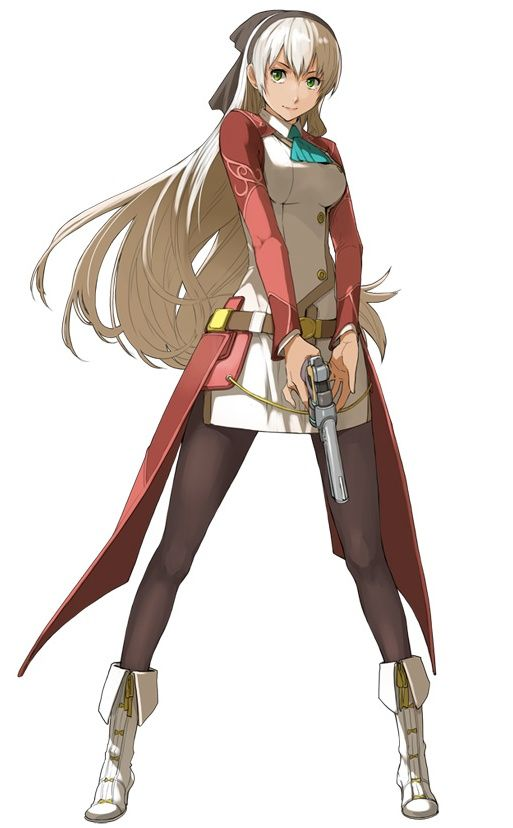Character Design Evolution : Ellie macdowell legend of heroes zero no kiseki