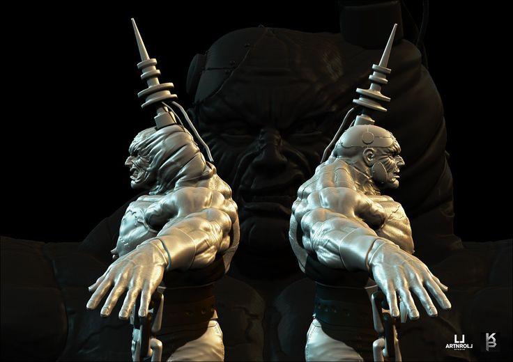 ArtStation - Monsters and Creatures, Artnroll Studio