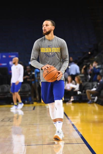a3e7b12b7 Stephen Curry of the Golden State Warriors does some drills during practice  as part of the 2018 NBA Finals on MAY 30 2018 at ORACLE Arena in Oakland.