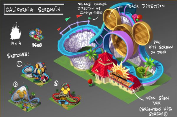 Disney Interactive surprised fans at the D23 Expo 2015 with the announcement of Disney Magic Kingdoms, an upcoming mobile game in the style of Roller Coaster Tycoon that will allow players to build...