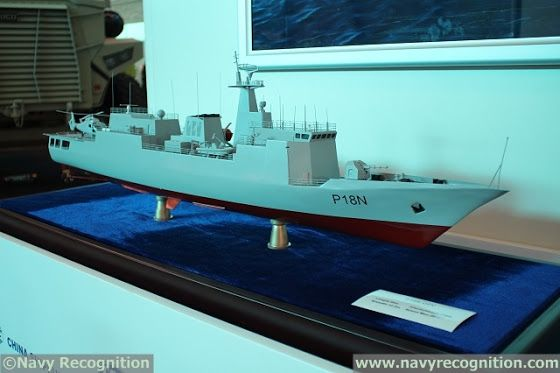 China Delivers First P18N Offshore Patrol Vessel to Nigerian Navy