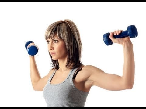 nice arms!     Upper Body Workout For Women:Upper Arm Exercises For Women:Arms Workout For Women