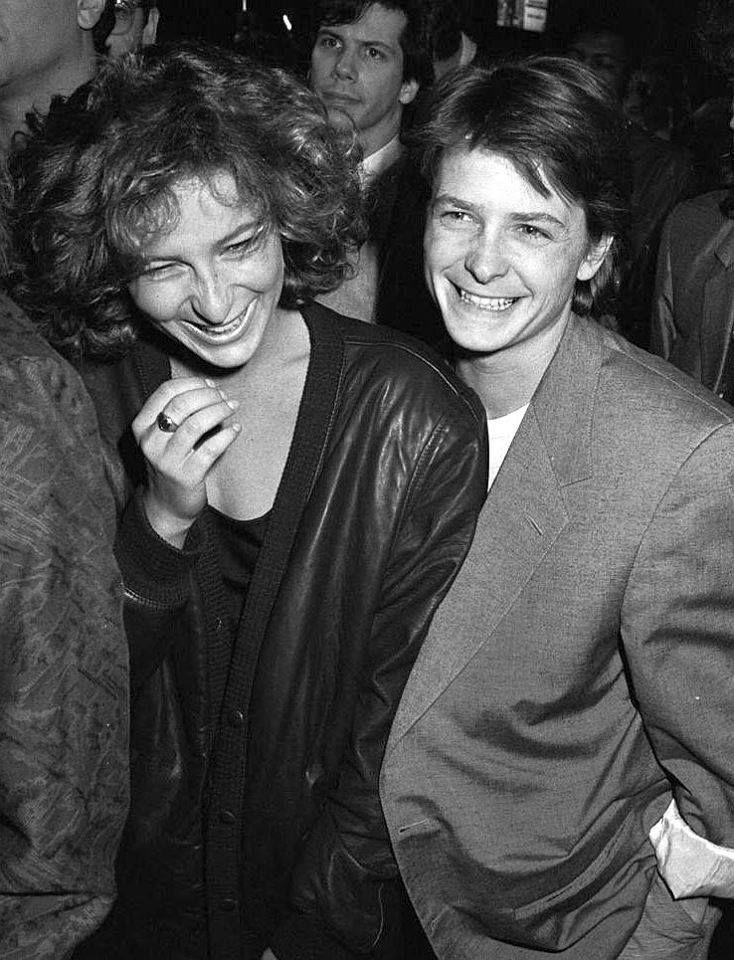 Дженнифер Грей и Майкл Дж. Фокс. / Jennifer Grey, Michael J. Fox.