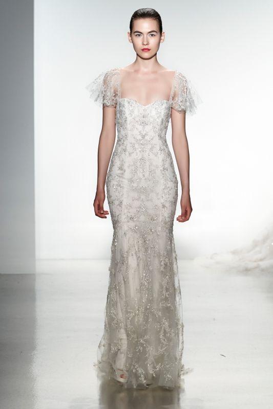Kenneth Pool Wedding Dresses - Spring 2014 Bridal Collection   Junebug Weddings