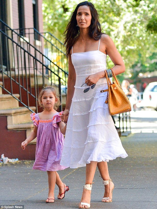 Mommy time: Krishna is frequently seen out with her mother Padma Lakshmi