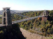 Clifton Suspension Bridge.