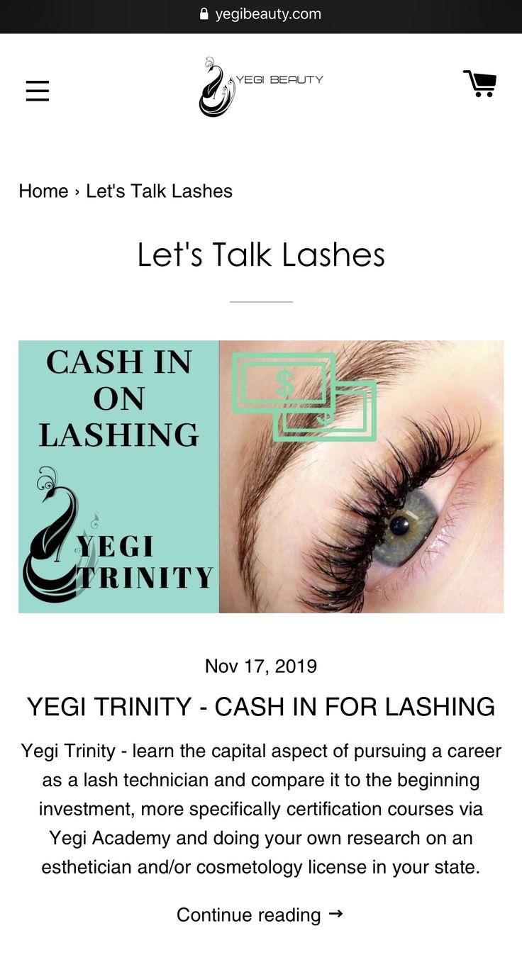 Cash In For Lashing Lashes, Beautiful eyelashes