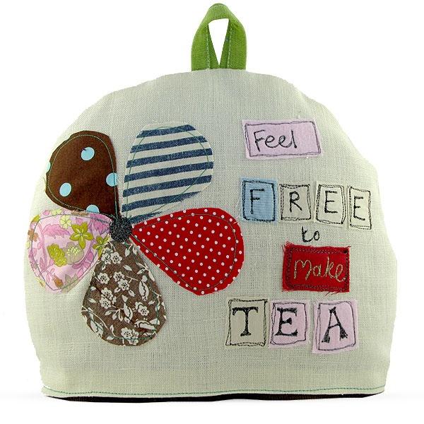 Poppy Treffry tea cosey. Love this.