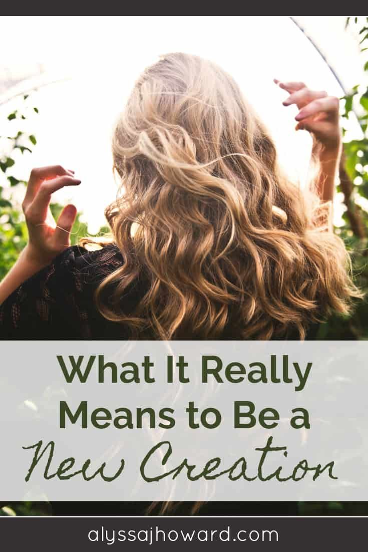 What It Really Means To Be A New Creation In 2020 Natural Hair Styles Eco Hair New Creation In Christ