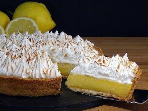 Tarta de crema de limón con merengue o Lemon Pie - La Cocina de Loli Domínguez - YouTube