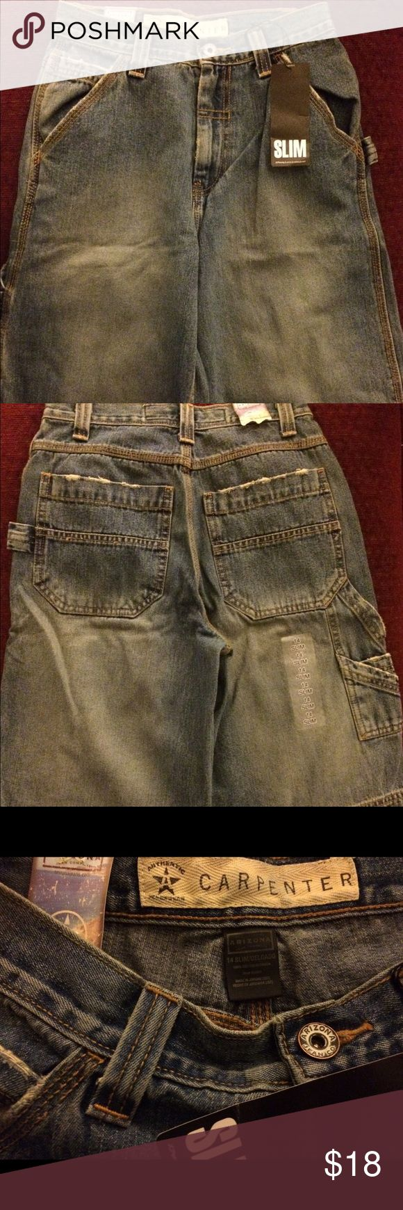 Boys Jean Shorts Denim Shorts NEW with tags! Questions! Please ask!!! Arizona Jean Company Bottoms Shorts