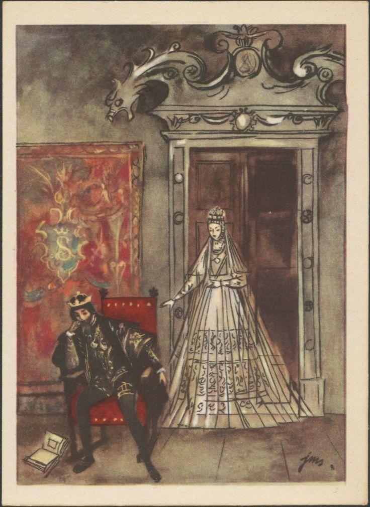 Zygmunt August i Duch Barbary Radziwiłłówny