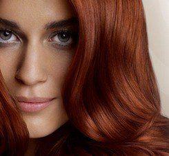 A festett haj ápolása és kímélése.