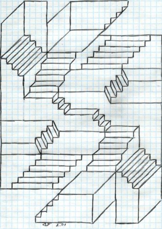 Treppen Zeichnen