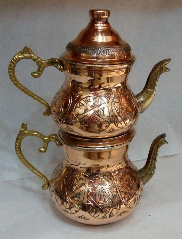 Use coupon code DISCOUNT15 Tea kettle/Copper Tea Kettle/Dining Serving Home Decor/ Tea set by craftartculture on Etsy