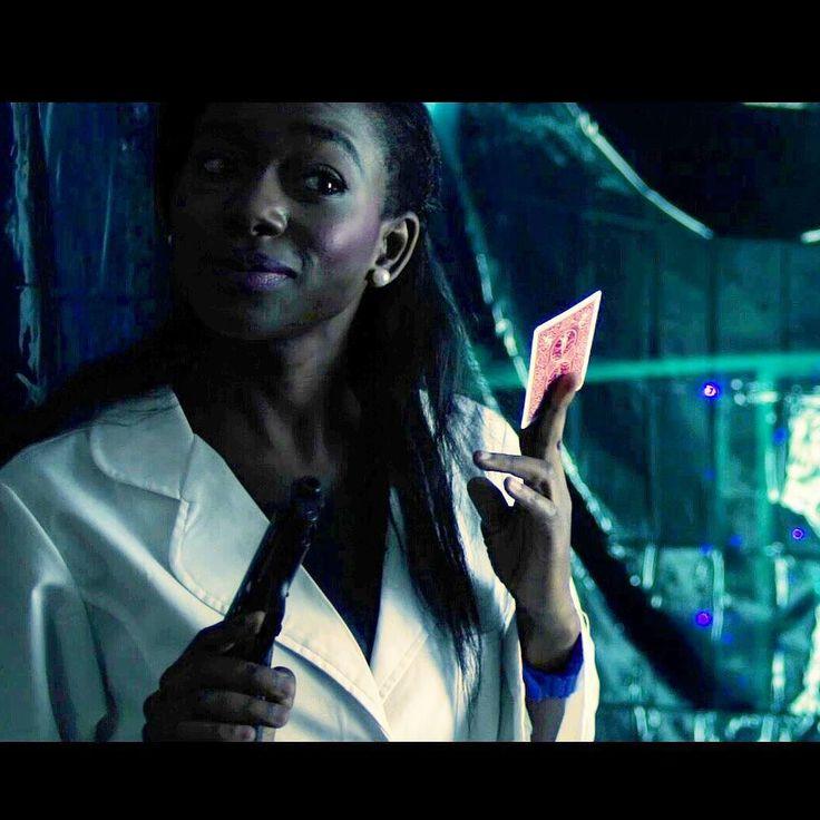Adjovi Koene in #brutesanity #indiefilm #scifi #gun #playingcards https://www.instagram.com/p/BSPpezSAMKj/