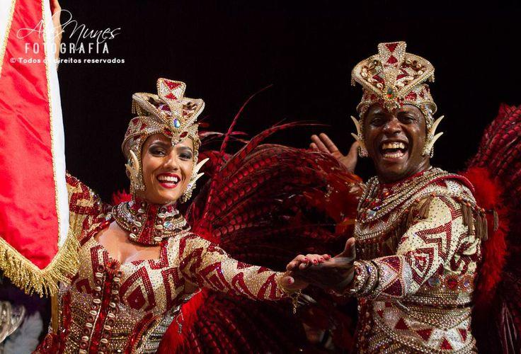 Desfile Carnaval 2014, Marcella Alves e Sidclei.