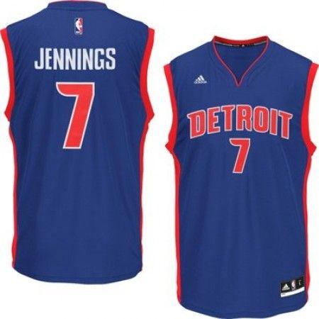 Mens Detroit Pistons Brandon Jennings Number 7 Jersey Blue http://www.supernbajerseys.com/mens-detroit-pistons-brandon-jennings-number-7-jersey-blue.html