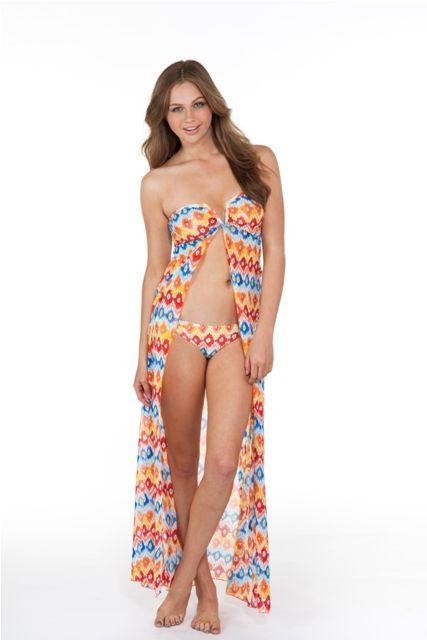 #Moontide Aztec #beach dress #BareEssentials #Swimwear