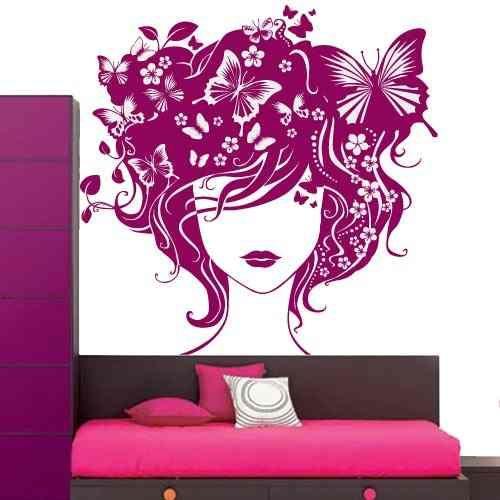Vinilos decorativos florales recamaras salas cocina etc for Vinilos decorativos para recamaras