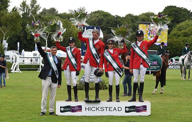 Hickstead show renamed as Nations Cup is on the move https://trib.al/3NMukEl