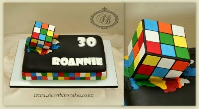Rubik's Cube Cake: Rubik Cubes Cakes, Cakes Ideas, Cakes Decor, Rubik Cakes